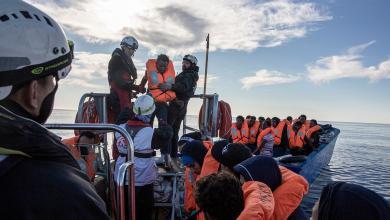 "Photo of سفينة ""أوشن فايكنغ"" تنقذ 84 شخصا بالقرب من السواحل الليبية"