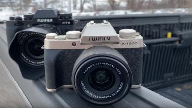 Photo of فوجي تطلق كاميرا متطورة بتصميم تقليدي