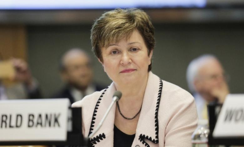 المديرة العامة لصندوق النقد الدولي كريستالينا جورجيفا