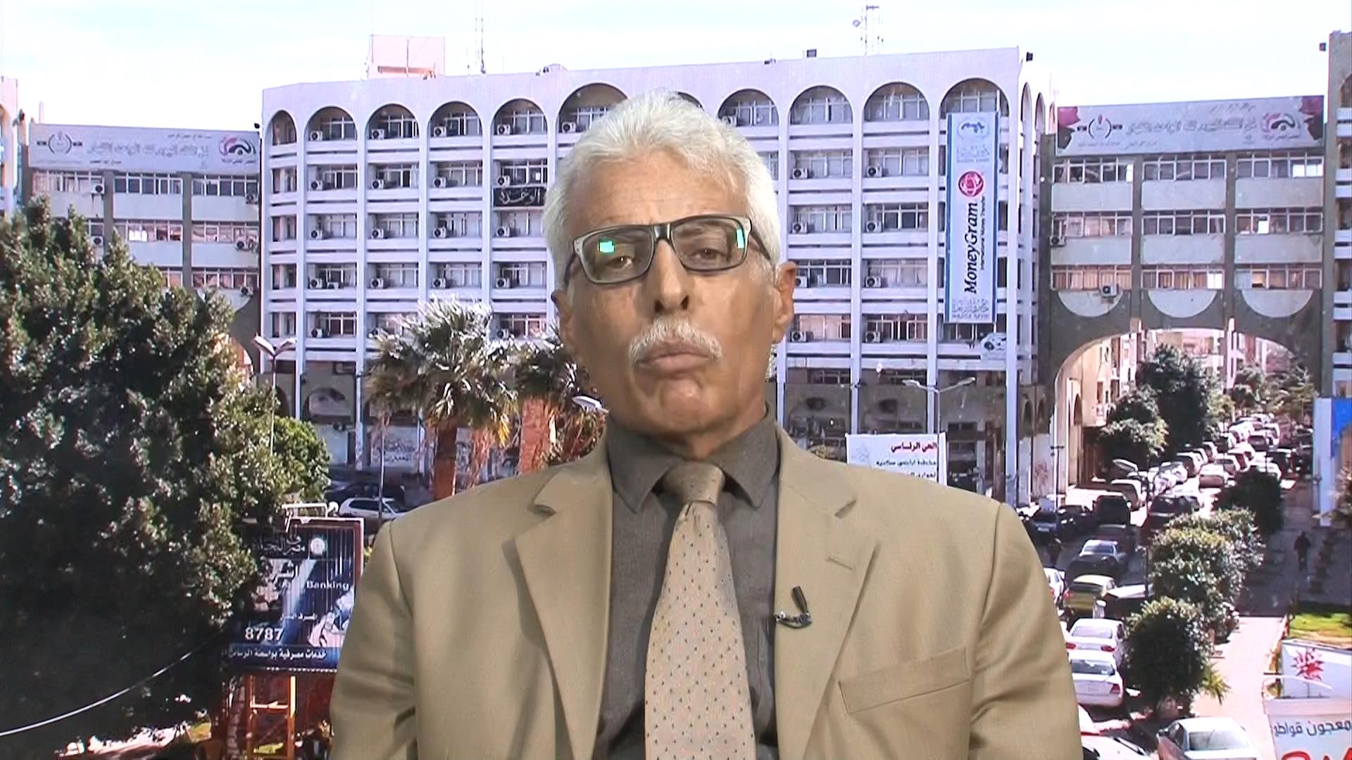مستشار القيادة العامة للجيش الوطني صلاح الدين الشكري