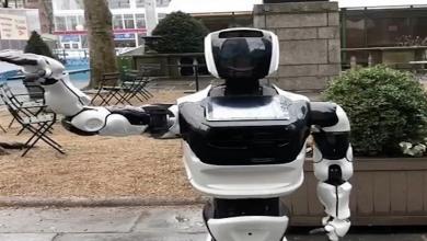 """Photo of حظر روبوت ينشر الوعي حول """"كورونا"""" في نيويورك"""