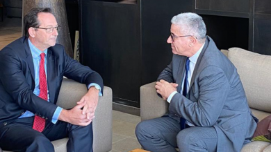 "Photo of باشاغا يبحث مع السفير البريطاني ""التعاون الأمني"""