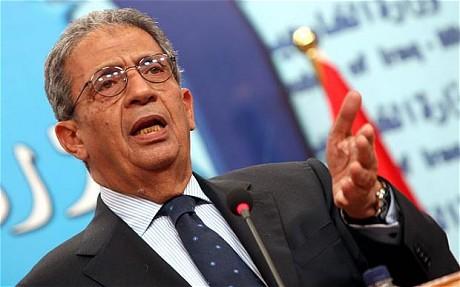 رئيس هيئة حكماء أفريقيا بالاتحاد الأفريقي عمرو موسى