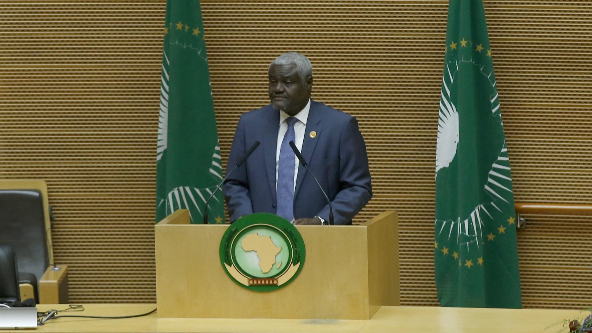 رئيس المفوضية الأفريقية موسى فكي- إرشيفية