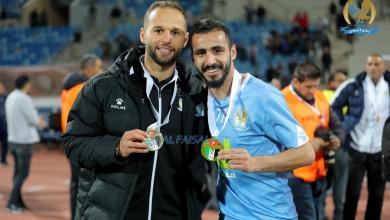صورة أكرم الزوي يتوج مع الفيصلي بالسوبر الأردني