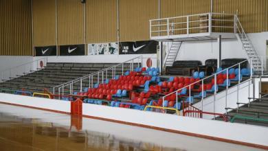 صورة اختتام أعمال الصيانة في قاعة قرطبة للألعاب الرياضية