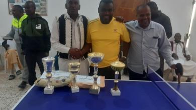 Photo of اختتام بطولة السلام لكرة الطاولة في مرزق
