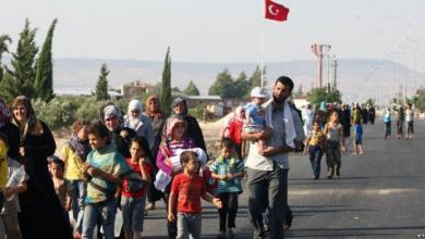 صورة تركيا تعيدآلاف اللاجئين من حدود اليونان بحجة كورونا