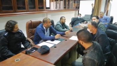 صورة لجنة أزمة لمواجهة كورونا في سواني بن آدم