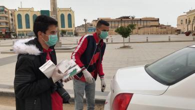 Photo of حملة توعية حول كورونا في طبرق بإشراف رابطة مشجعي الصقور