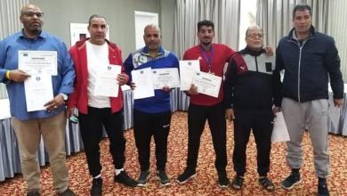 صورة 6 مدربين كرة يد ليبيين ينالون الرخصة D في تونس