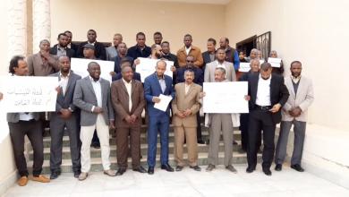 Photo of أعضاء السلك القضائي في أوباري يتضامنون مع زميلهم المختطف