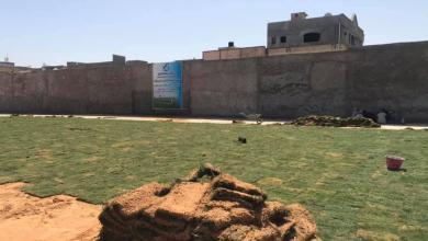 Photo of أعمال تعشيب وصيانة ملعب أبوسليم تصل المرحلة الأخيرة