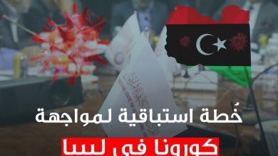 Photo of خُطة استباقية لمواجهة كورونا في ليبيا