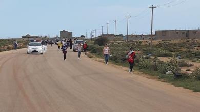 Photo of ختام سباق العدو الريفي للطالبات في درنة