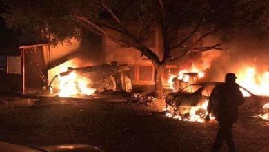 Photo of إصابة شخصين بسبب القذائف العشوائية على سوق الجمعة