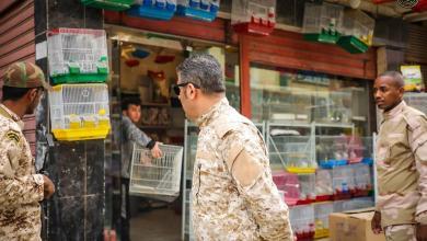 """Photo of """"مكافحة الظواهر"""" يغلق سوق الطيور في بنغازي"""