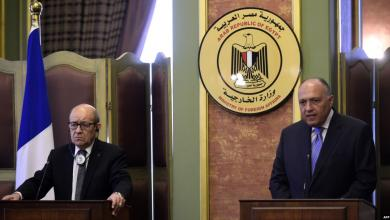 Photo of اتفاق مصري فرنسي لمواصلة التنسيق بشأن أزمة ليبيا