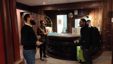 Photo of سفارة ليبيا في روما تحجز فندقاً لليبيين عالقين في ايطاليا