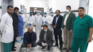 Photo of بنغازي .. وزارة الصحة تتفقد مستشفى الكويفية للأمراض الصدرية