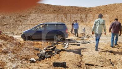 """Photo of تفجير إرهابي يستهدف طريق """"الشويرف – القريات"""""""