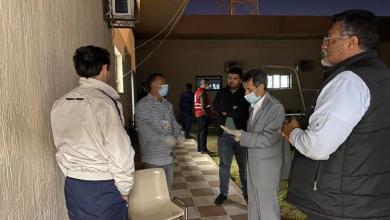 Photo of رئيس المجلس التسييري سرت يتابع تجهيزات مركز الحجر الصحي