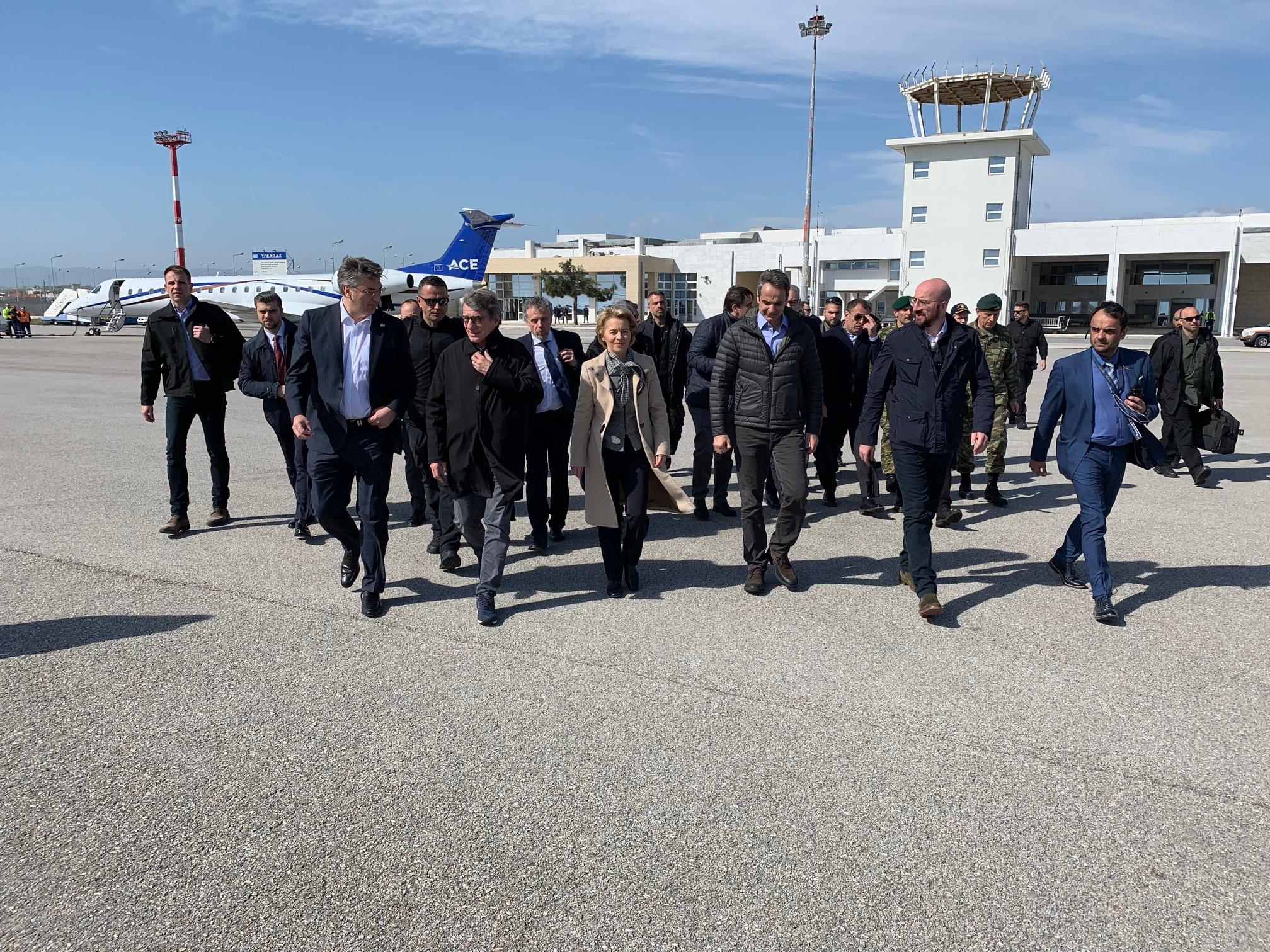 وفد الاتحاد الأوروبي يزور الحدود اليونانية التركية