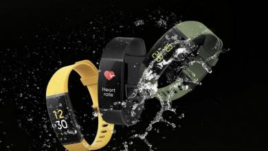 Photo of شركة Realme تكشف عن سوار ذكي مُقاوم للماء