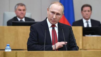 صورة بوتين يقترح عقد مؤتمر دولي لمواجهة جائحة كورونا