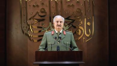 Photo of المشير حفتر: قبلنا تفويض الليبيين لإسقاط الاتفاق السياسي وقيادة البلاد