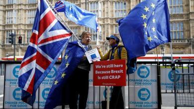 """صورة تفاؤل بريطاني """"حذر"""" بالتوصل لاتفاقية تجارية مع الاتحاد الأوروبي"""