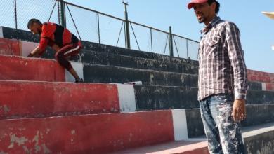Photo of حملة لصيانة مقر نادي الصقور من رابطة المشجعين