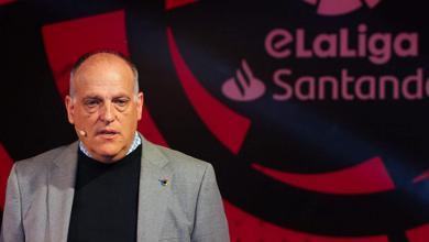 صورة رئيس رابطة الليغا: إلغاء الدوري الفرنسي متسرع للغاية