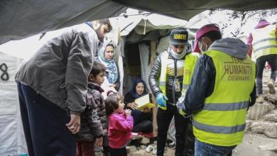 صورة تحذيرات من تفشي كورونا في مخيمات لجوء مكتظة