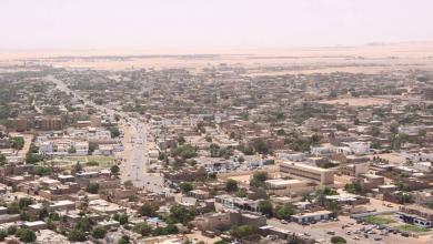 """Photo of """"الأبعج"""" يتدارس مع قيادات أمنية خطة لتأمين الكفرة"""