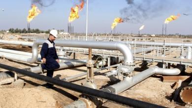 صورة نقابة عمال النفط تطالب بصرف مرتبات مارس