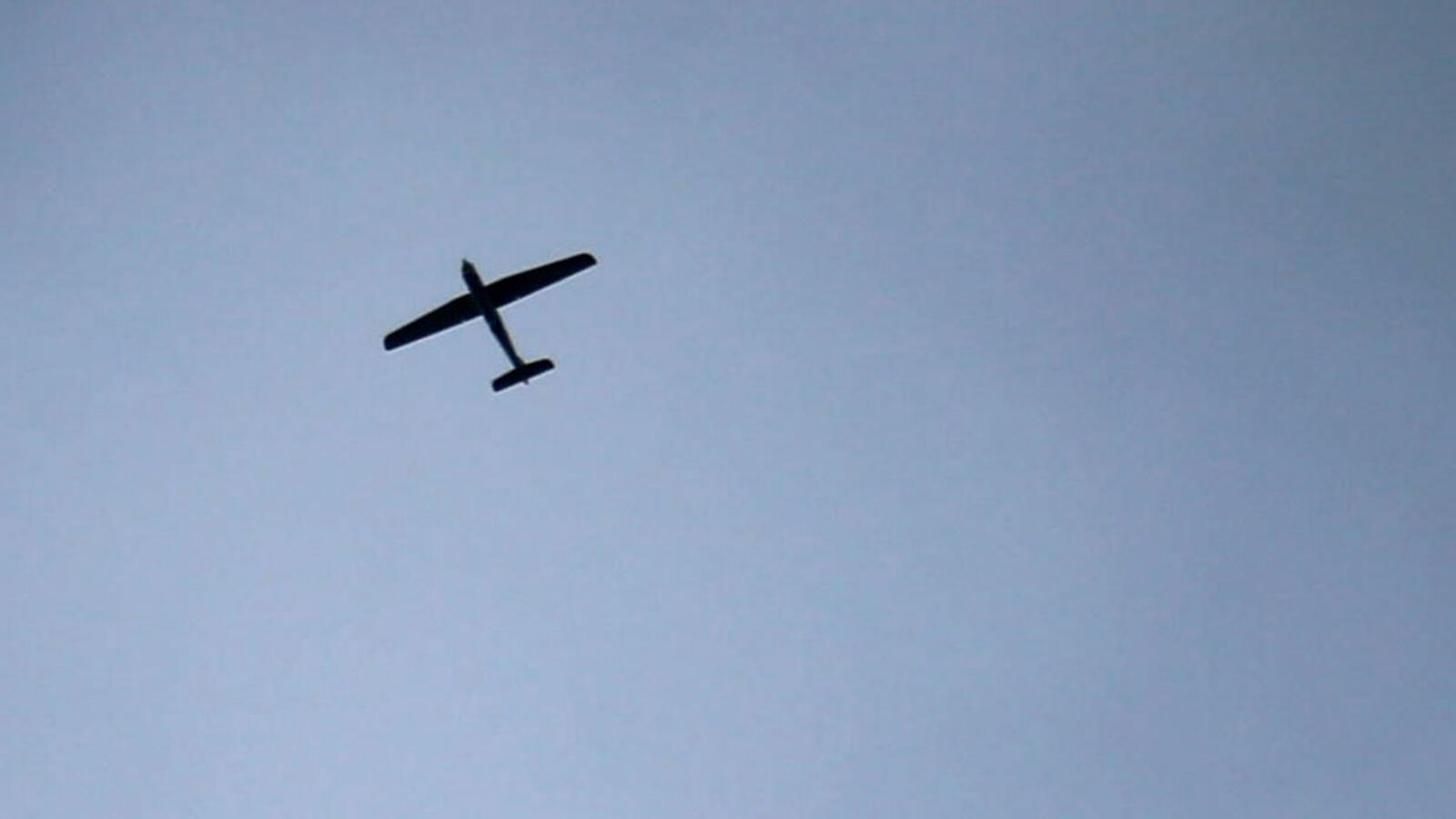 دفاعات الجيش الوطني تسقط طائرة مسيرة
