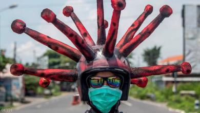 """صورة """"الأشباح"""".. سلاح السلطات الإندونيسية ضد مخالفي الحظر"""