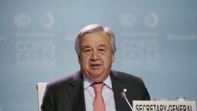 "Photo of الأمم المتحدة تدعم تأجيل مؤتمر ""غلاسكو"" للمناخ"