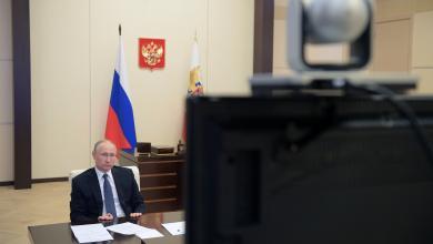 Photo of بوتين: العمل المنظم سيخرجنا من أزمةكورونا