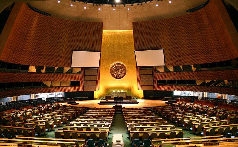 قرار للجمعية العامة للأمم المتحدة لحث دول العالم أن توحد الجهود لمكافحة جائحة فيروس كورونا كوفيد 19