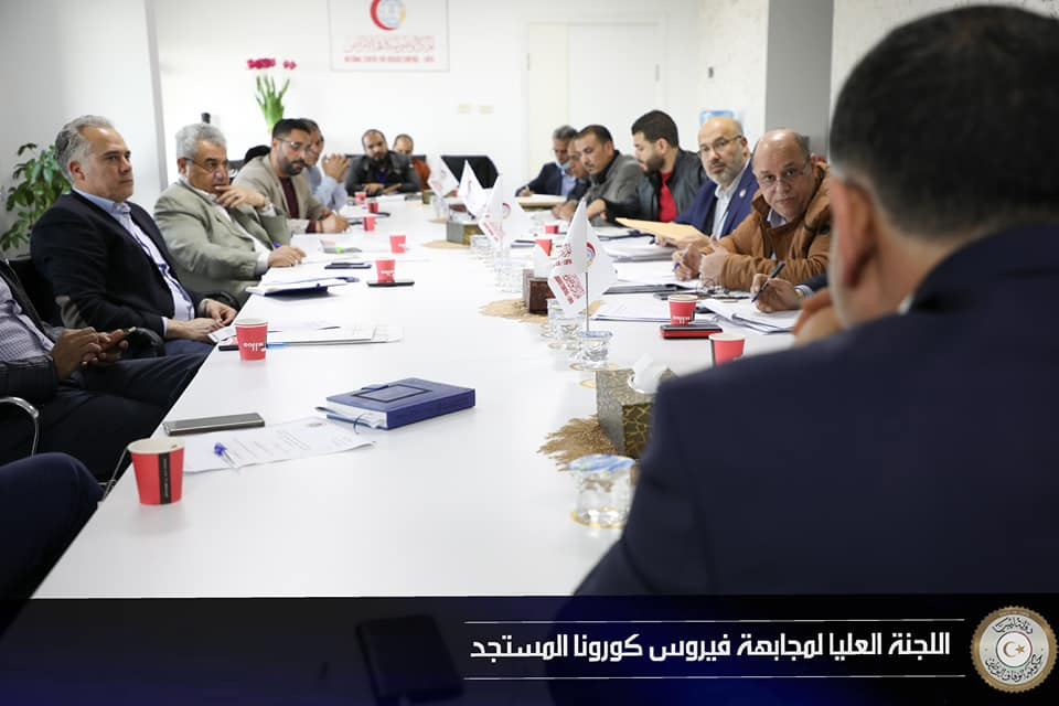 اللجنة العليا لمجابهة كورونا تناقش قرار الرئاسي حول نفقات الطوارئ