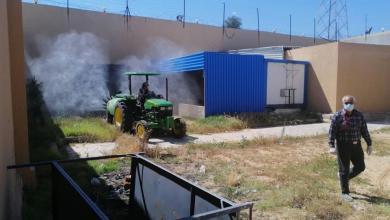 Photo of لمكافحة كورونا.. عمليات تعقيم داخل وخارج مؤسسة الإصلاح جوددائم بمدينة الزاوية