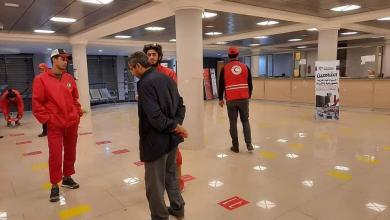 صورة بلدية بنغازي تواصل أعمالها التوعوية لمكافحة فيروس كورونا
