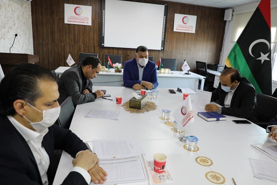 الاجتماع 15 للجنة العليا لمجابهة فيروس كورونا في طرابلس