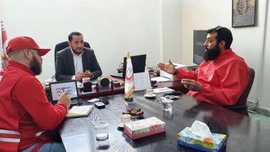 صورة الهلال الأحمر الليبي يُكثّف حملاته التوعوية لمكافحة فيروس كورونا