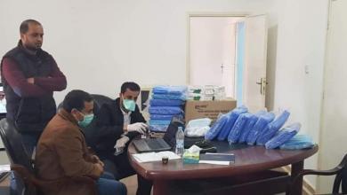 صورة توصية بتشديد إجراءات التصدي لكورونا في طبرق
