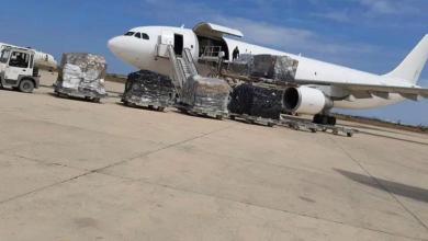 صورة صحة الوفاق تعلن وصول شحنة معدات الوقاية الشخصية من بلجيكا