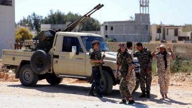 صورة قوات الوفاق تحاول السيطرة على الأصابعة