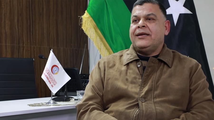 """العميد """"خالد مازن"""" - وكيل وزارة الصحة بحكومة الوفاق"""